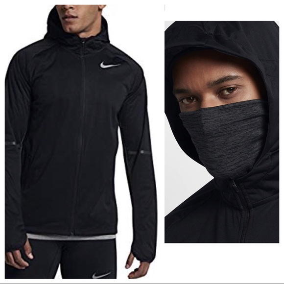 08dfbd2e2e31 Nike Shield Max Warm Run Jacket Black Men Size L. M 5c1853e3f63eea8a6e4c7c35
